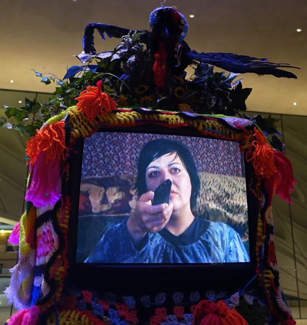 Nao Bustamante II Warhol Icon Happening