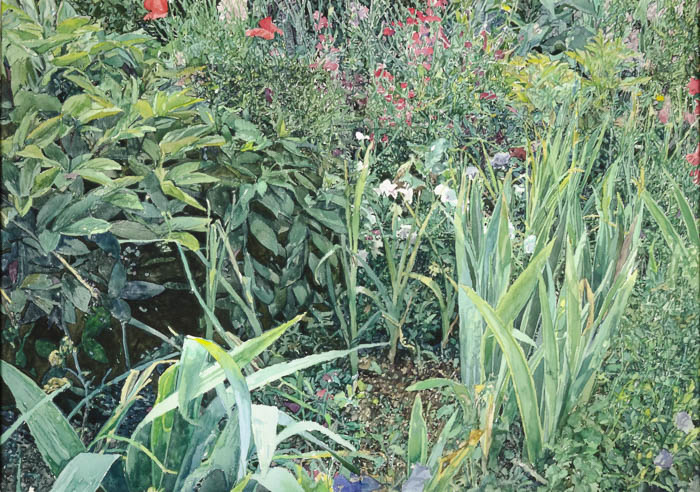 25401 Nichols Gardens at Giverny Beyond the Path: Landscape Paintings by William Nichols