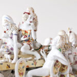Chris Antemann, Forbidden Fruit Dinner Party (detail), 2013, Meissen Porcelain®, image courtesy of MEISSEN®