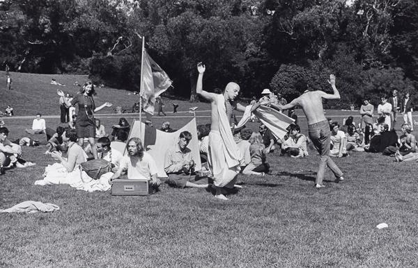 Baruch Hare Krishna Dance in Golden Gate Park Summer of Love Redux