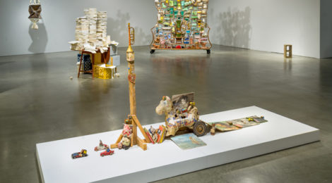 """""""Interstitial,"""" installation view. Courtesy PMCA. Copyright: Don Milici."""