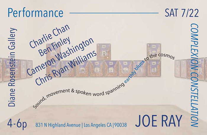 Joe Ray Performances Final web Spanning earthly blues to the cosmos...
