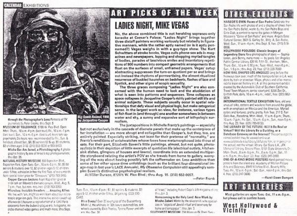 Mike Vegas e1501526904805 Past and Present: LA Art in the 90s