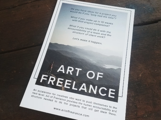"""Creatives"" Gather at Art of Freelance"