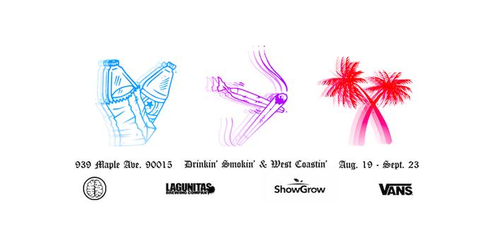 austin drawings header artillery Drinkin Smokin & West Coastin – Opening Night