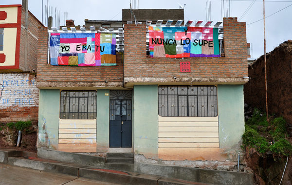Puno MoCA, (2011), installation by Donna Huanca and Roy Minten, photo by Roy Minten