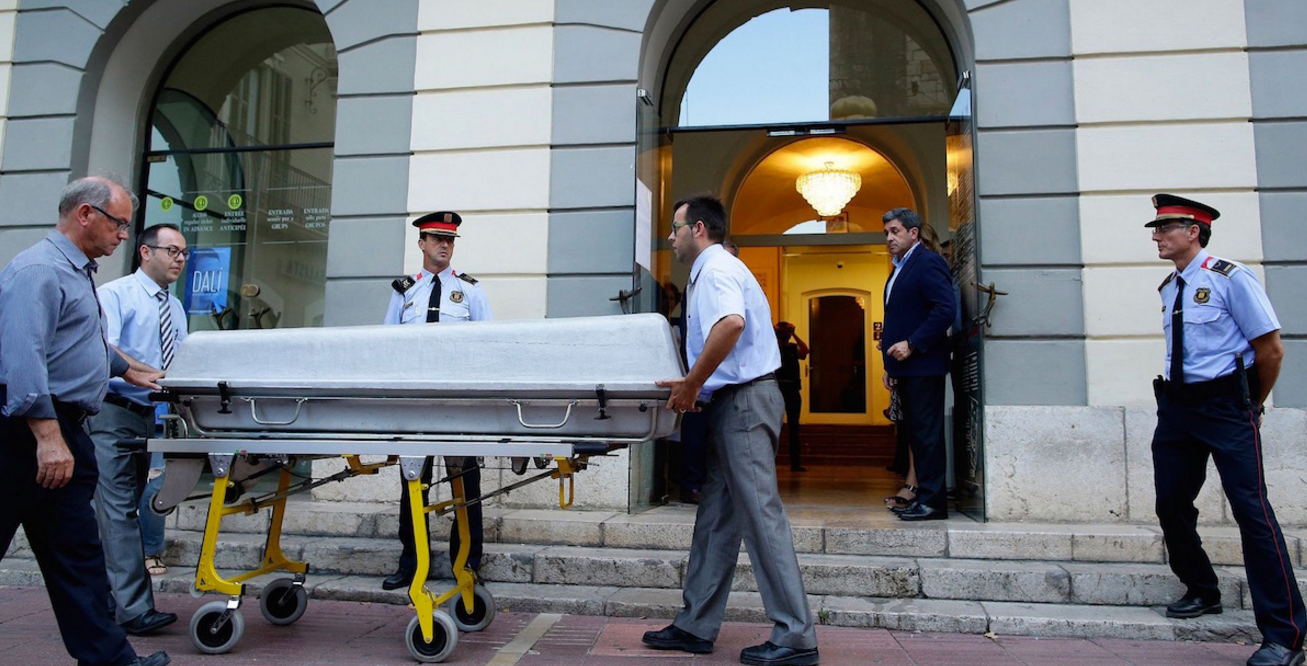 dalli exhumed Salvador Dali Corpse Exhumed In Paternity Case Media Circus