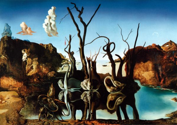 An edition of how many? Salvador Dalí, Swans Reflecting Elephants, 1937