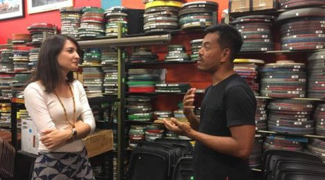 Filmmakers Emily Hong and Nerve Valerio discuss ethnocinema.