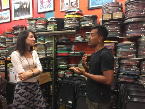 Filmmakers Emily Hong and Nerve Valerio discuss ethnocinema.