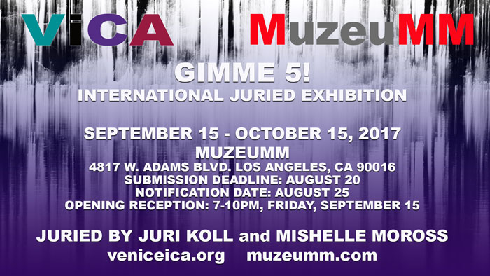 Gimme 5purpartil Gimme 5! International Juried Show