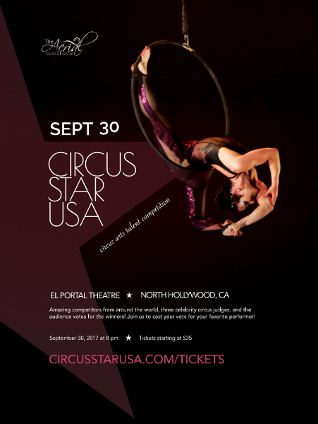 circus star usa 2017 Small Poster <ns>Calendar</ns>