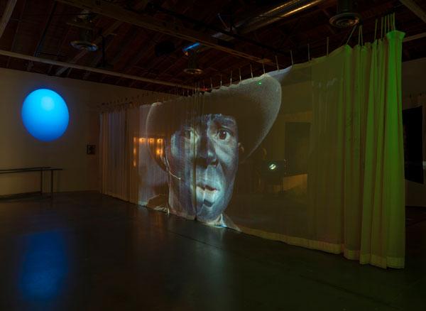 "Edgar Arceneaux, ""Until, Until, Until...,"" Susanne Vielmetter Los Angeles Projects, installation view, courtesy of the artist and Susanne Vielmetter Los Angeles Projects, photo by Robert Wedemeyer"