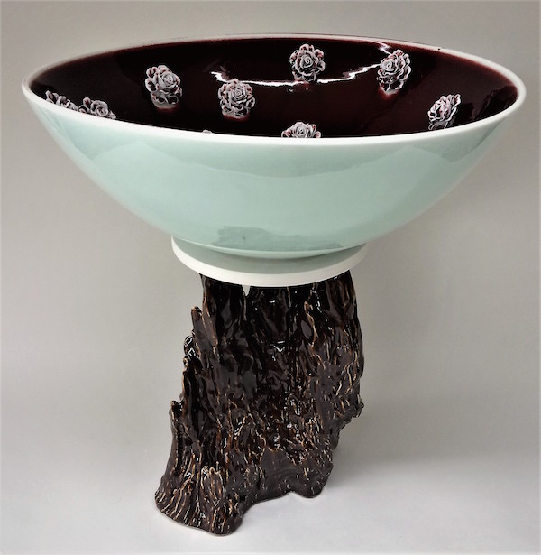 """Cloud 1 Porcelain 26"""" x 19"""" x 19"""" New Exhibition at TAG Gallery, Miracle Mile"""