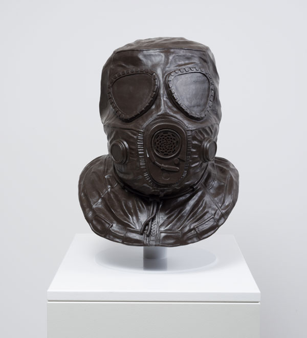 Ben Jackel, Gas Mask, 2016, ©Ben Jackel, courtesy L.A. Louver.