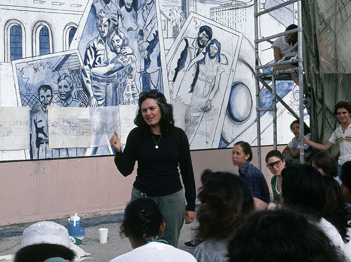 Image 06small The Great Wall of Los Angeles: Judith F. Baca's Experimentations in Collaboration and Concrete