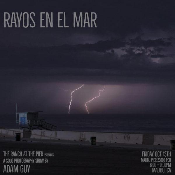 InviteFinal copysm 600x600 Rayos en El Mar Photography Show