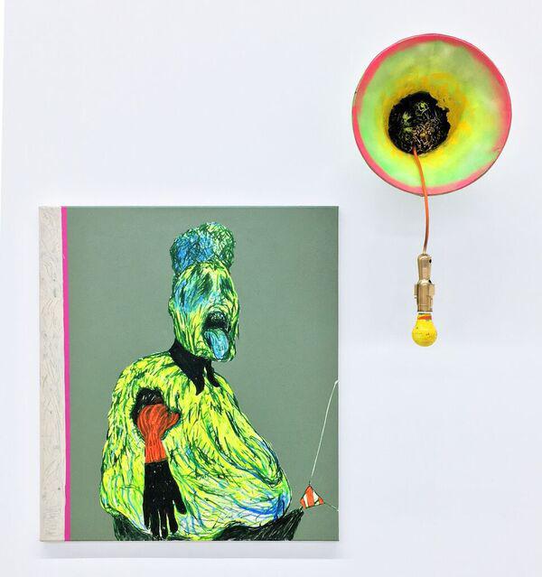 Untitled Scream 1 web <h6 class=sub> Nicodim Gallery: </h6> <h1 class=post title entry title> Simphiwe Ndzube </h1>