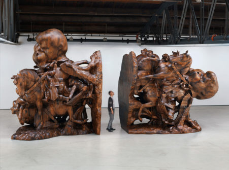 WS Bookends 451x335 Paul McCarthy: Let Em Eat Garbage