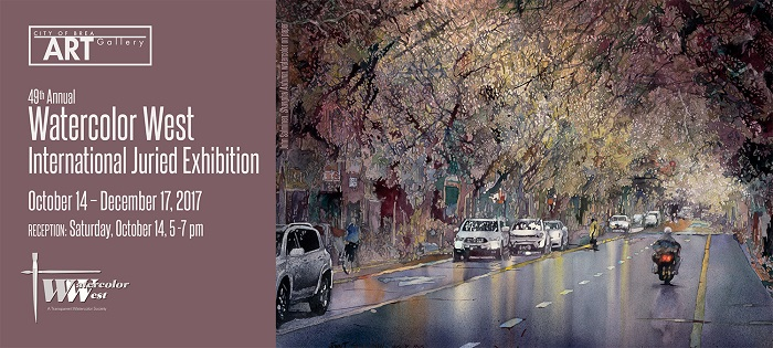 WW 2017 NVITE front 49th Annual Watercolor West International Juried Exhibition