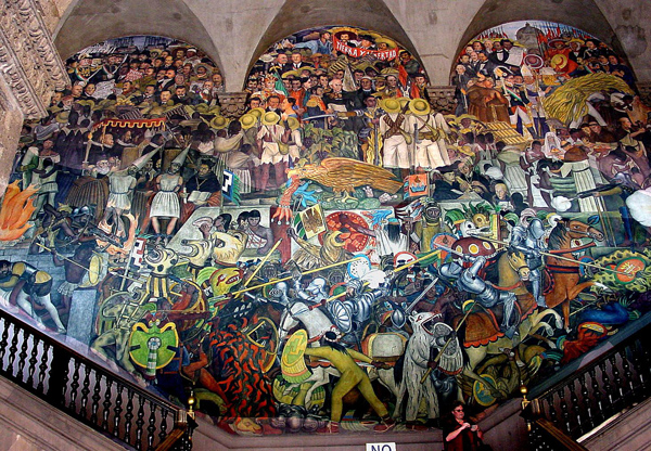 Diego Rivera, Murals/Palacio Nacional de Mexico, painted between 1929 and 1951, Mexico City.