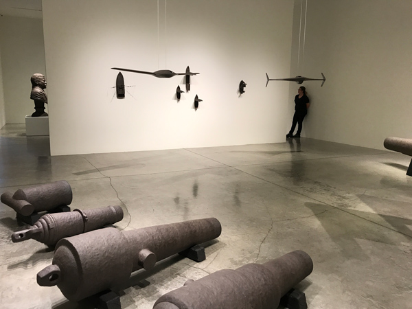installation 2 Protest in Poetry at L.A. Louver