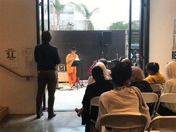 reader 3 Protest in Poetry at L.A. Louver