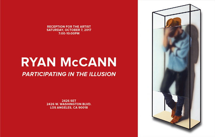 ryan mccann opening Participating in the Illusion