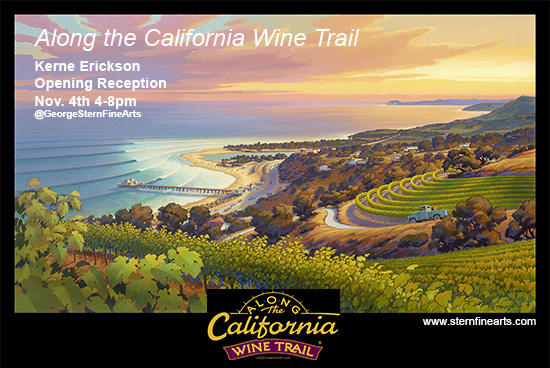 ATCWT flyer 550 Along the California Wine Trail: Opening Reception