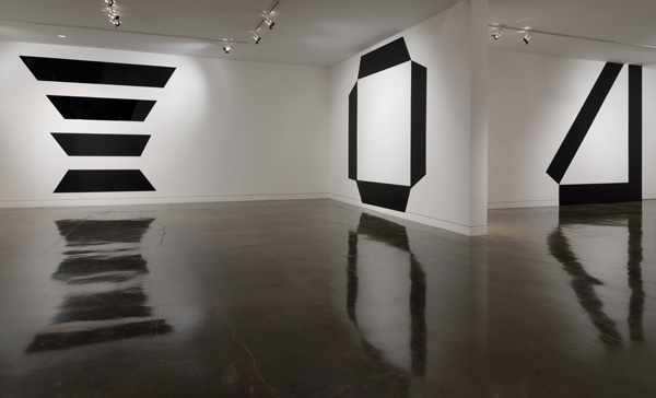 "Joseph Dumbacher and John Dumbacher, ""line-of-site,"" installation view. Courtesy of the artists. Photo: Alan Shaffer."