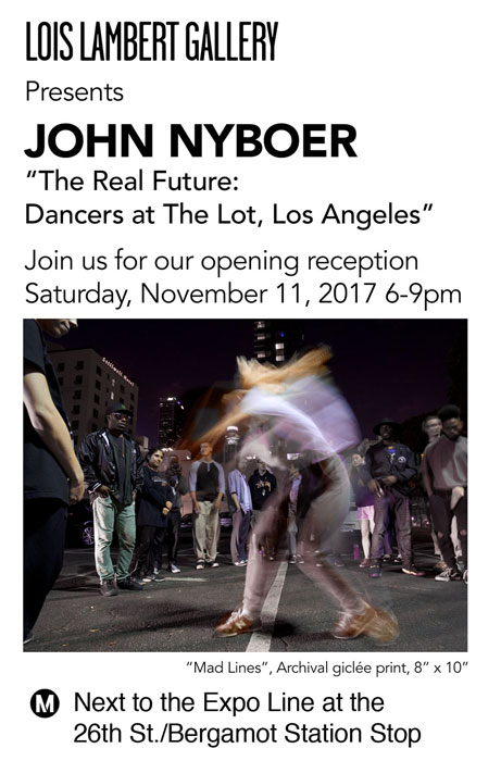 John Nyboer Digital Invite The Real Future   Los Angeles Dancers at The Lot