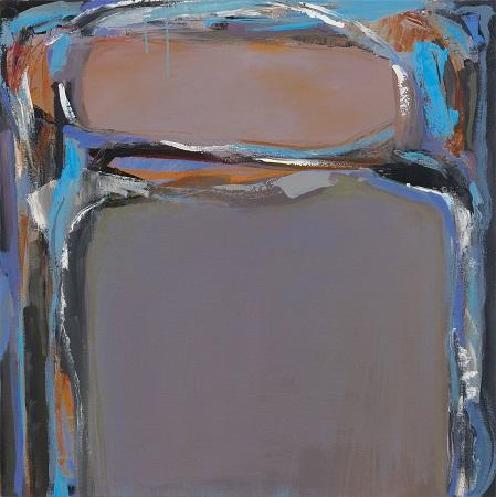 Portal I 2016 Oil 27x27 Marlene Capell Squared