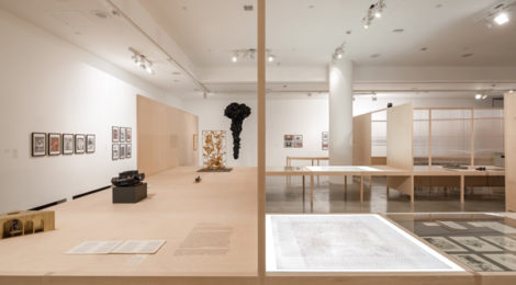 The Words of Others: León Ferrari and Rhetoric in Times of War, 2017. Exhibition view at REDCAT. Photo: Taiyo Watanabe.
