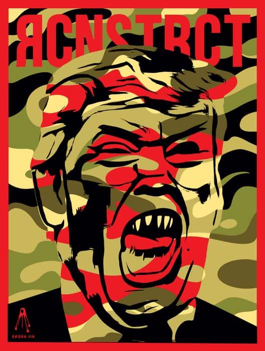 TrumpJawsWeb Kii Arens   Dictators & Monsters