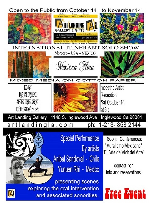 art landing flora mx Copy LA FLORA MEXICANA, INTERNATIONAL ITINERANT SOLO ART EXHIBITION