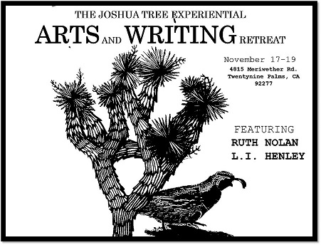 bw event image The Joshua Tree Experiential ARTS and WRITING Retreat