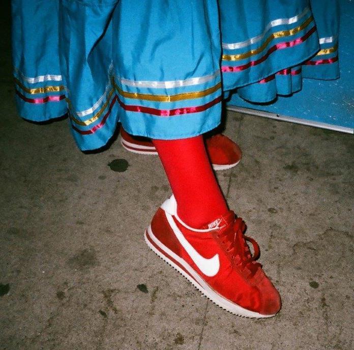 """sm Red Cortes by Manuel Sad Boy Rodrigues 2016 sm """"Queer Califas: LA Latinx Art Opening Reception"""
