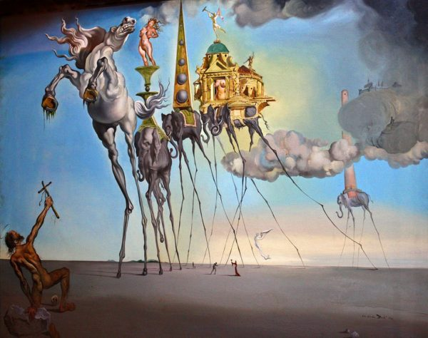 the temptation of saint anthony 600x474 Art Monster: An Introduction
