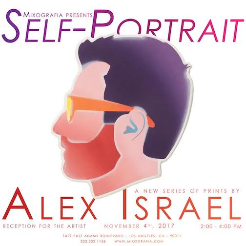 %name Mixografia Presents Self Portrait A new series of prints by Alex Israel
