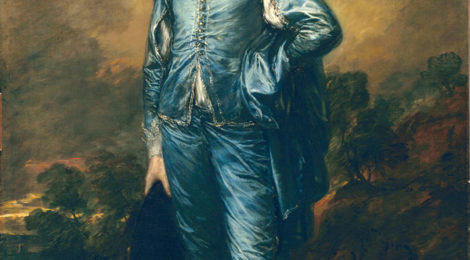 Thomas Gainsborough's The Blue Boy, (c.1770)