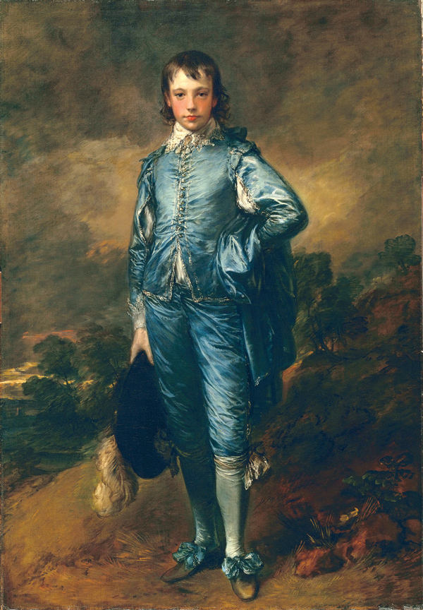 Thomas Gainsborough's The Blue Boy, (c.1770)