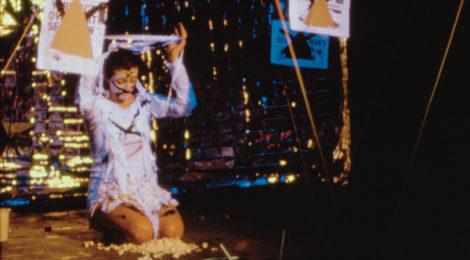 Cosey Fanni Tutti in Ritual Awakening, Zap Club, 1986