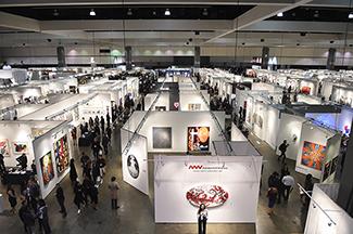 LA Art Show Ariel View 2017 Hijinx Arts web 325px <ns>Calendar</ns>