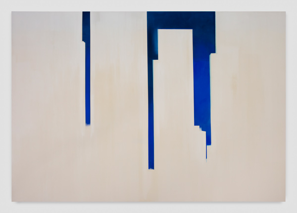 Wanda Koop, In Abstentia (Deep Blue - White), 2016, courtesy of the artist and Night Gallery.