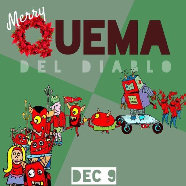 Quema.Rsz  600x600 1st Annual Quema Del Diablo Music and Arts Festival, Joshua Tree
