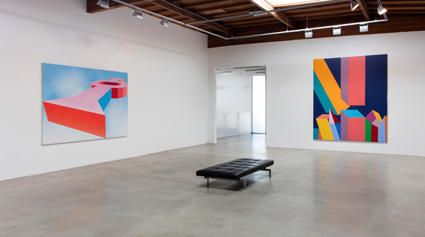 Miriam Schapiro; Installation view; Courtesy of Honor Fraser Gallery, Los Angeles, CA. Photo by Brian Forrest.