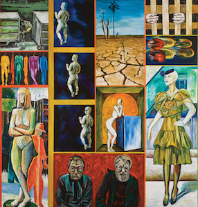 A Day In LA copy Home Sweet Home: An Exhibit of Paintings by Seeroon Yeretzian