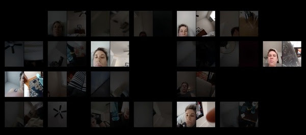 Kate Hollenbach phonelovesyoutoo 2016 31 days of cellphone recordings Courtesy the artist Empathy Through Technology: Re examining Vulnerability