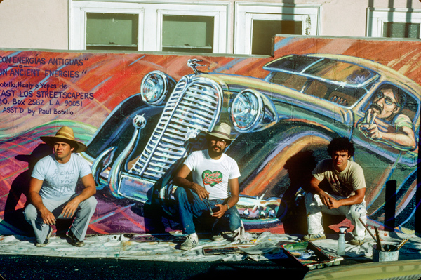 East Los Streetscapers P4 13cc Culture Coverup: L.A. Chicana/o Murals under Siege