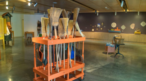 Michael Lewis Miller, Sweep (1989–present), courtesy of the artist and Norco College.